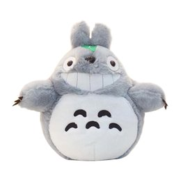 Soft Toys Prices Australia - Cartoon Stuffed Animal 60cm Famous Cartoon Totoro Plush Toys Smiling Soft Stuffed Toys High Quality Dolls Factory Price In Stock