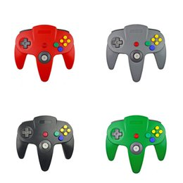 $enCountryForm.capitalKeyWord Australia - USB Long Handle Game Controller Pad Joystick for PC 64 N64 System 5 Color in stock