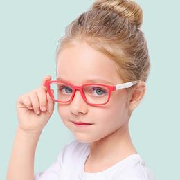 3a4ecbeb4f 2019 Gafas de luz azul para niños Gafas de sol para niños Gafas de bloqueo  de luz azul Chicas Niños Marco de computadora transparente UV400