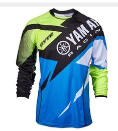 Nuevo Moto GP para YAMAHA Motocross Jersey Mountain Honda Motocross Jersey BMX DH MTB transpiración Camiseta JJF