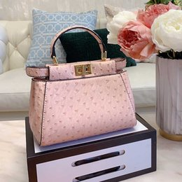 peach dress clutch bag Australia - Womens Shoulder Messenger Bags Pink Handbag Ladies Purses Bag Women Leather Handbags Mini Small Rivet Totes Wallets Clutch Sac
