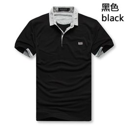 Wholesale polos t shirts for sale – custom New brand high quality boss Polo luxury menswear cotton shorts Polos summer casual Polos homme T shirt menswear
