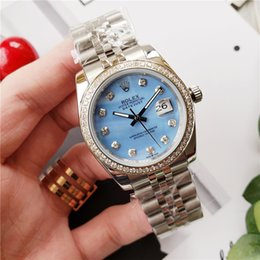 $enCountryForm.capitalKeyWord Australia - 2019 good quality new hot small lady mechanical watch 316 stainless steel material perfect detail fashion casual water blue automatic woman