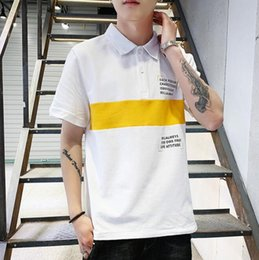 fashion polos for men Australia - New Summer Mens Polos Shirts Fashion Brand Polos For Men Tee Shirts Fashion Designer Mens Tops Clothing 3 Colors M-3XL Available