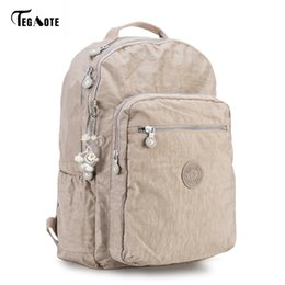 Styles Backpacks Australia - Tegaote Backpack Student College Waterproof Nylon Backpack Men Women Material Escolar Mochila Quality Brand Laptop Bag School Y19061204