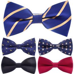 $enCountryForm.capitalKeyWord Australia - Bowtie men formal necktie Dot Bow Tie Wedding Bowtie Boys Girls Polyester Silk Bowties Female Male Neckwear