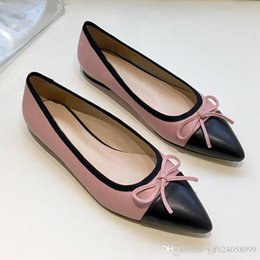 $enCountryForm.capitalKeyWord Australia - High quality sexy pointed flat shoes, womens ballet shoes, fashion party dress shoes, casual dress leather shoes,breathable and comfortabl