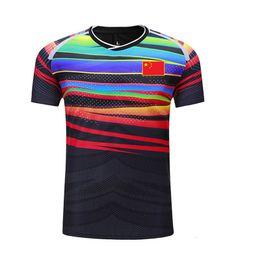 $enCountryForm.capitalKeyWord UK - New CHINA badminton shirt with flag, badminton tshirt , Men women quick Dry breathable Tennis shirts , uniforms 107