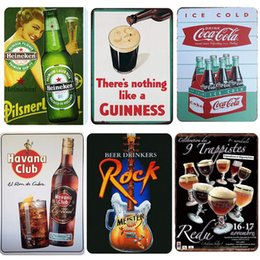$enCountryForm.capitalKeyWord UK - New Hot Sell Beer Group Plate Metal Plate Car Number Tin Sign Bar Pub Cafe Home Decor Metal Sign Garage Painting Plaques Sign 2019