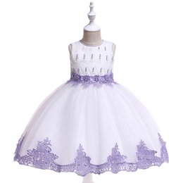 Photos birthday online shopping - Fashion Tulle Princess Tutu Flower Girls Dresses Baby Kids Toddler Clothes for Wedding Birthday Party Sweet Lovely Girls Dresses