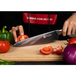 $enCountryForm.capitalKeyWord Australia - Upgraded Chef Knife 8inch, German High Carbon Steel with, All-Purpose Sharp Vegetable and Meat Cleaver Non-Stick Stain & Corrosion Resistant