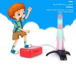 rocket toys for children Australia - Luminous launch rocket head new Children's educational toys foam rocket head suitable for 2-4 years old children with good gifts