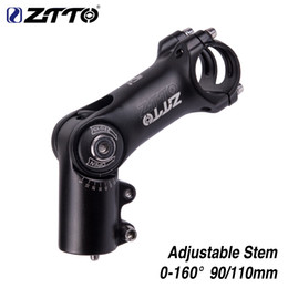 $enCountryForm.capitalKeyWord NZ - ZTTO Adjustable 160 degrees Riser 90mm 110mm*31.8 fiting Stem for MTB Road CityBike Bicycle part Rise Up Extender fork Extension