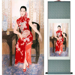 $enCountryForm.capitalKeyWord NZ - Portrait Painting Home Office Decoration Chinese Scroll Painting Women Art Paintingprinted Painting Ltw120502
