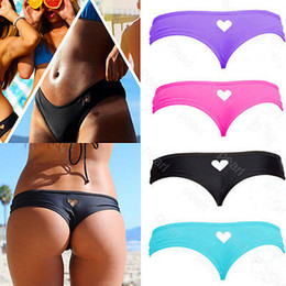$enCountryForm.capitalKeyWord Australia - bottom thong sexy mini string swimwear bikini swimsuit women Heart T-Back Beachwear Bikini Bottom Swimwear 2016 biquini