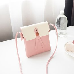 $enCountryForm.capitalKeyWord Australia - Women's Simple Small Square Bag Fashion Single Shoulder Messenger Bags Crossobdy Bag PU Leather Mini Handbag For Girls#H15