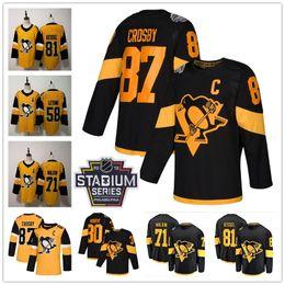 stadium series hockey jerseys 2019 - 2019 Stadium Series Patch Pittsburgh  Penguins 87 Sidney Crosby 59 f1d0a7ffe