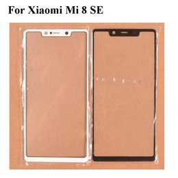 $enCountryForm.capitalKeyWord Australia - 2PCS For Xiaomi mi 8 SE mi8 SE Front Outer Glass Lens Repair Touch Screen Outer Glass without Flex cable Replacement Xiaomi8