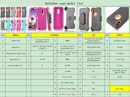 Stock Mirrors Australia - Defender Case for Moto G7 Power E5 Supra G6 Play Samsung J3 2018 J7 Star J2 Core Armor with mirror Holster Clip in Stock