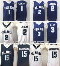 77e528b56adf College Basketball Jerseys Wildcats player  1 Kyle Lowry 2 Kris Jenkins 3  Josh Hart 15 Ryan Arcidiacono Villanova navy game uniform