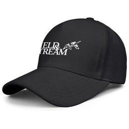 AnimAl hAt birds online shopping - Womens Mens Plain Adjustable Bird Field Stream Logo Hip Hop Cotton Strapback Hat Bucket Sun Hats Flat Top Hat Airy Mesh Hats For Men Women