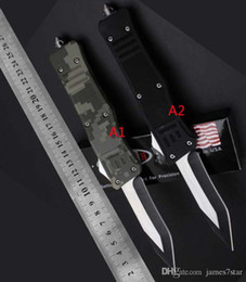 $enCountryForm.capitalKeyWord NZ - wholesale black UT85 A021 150-10 HALO V5 V6 3300 3350 CA07 A161 automatic Tactical knife Single edge camping combat survival pocket knife