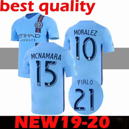 c1a31af95 AAA+ S 2XL 2019 2020 MLS New York City Soccer Jerseys 19 20 MATARRITA  MORALEZ PIRLO DAVID VILLA football shirts