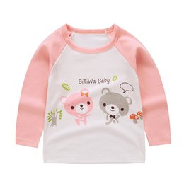 $enCountryForm.capitalKeyWord Australia - New Autumn Spring Children t shirts for Boys Girls t-shirt Kids Cotton Long Sleeve Tops Baby Tees Kids