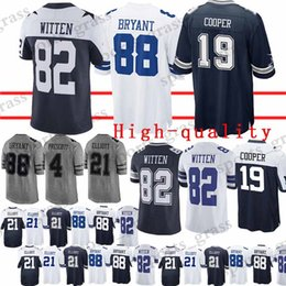 Dallas cowboys men online shopping - Dallas Cowboys Jersey Jason Witte Dez  Bryant Amari Cooper Dak 9cf4fd08a