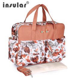 $enCountryForm.capitalKeyWord NZ - New Brand Multifunctional Nappies Bags Messenger Maternity Bag Outdoor Travel Bags Organizer Diaper Bag with Stroller Straps for Baby Care