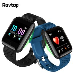 $enCountryForm.capitalKeyWord Australia - 116 Plus Smart Watch 116Plus Multifunctional Sports Bracelet Smart Wristband IP67 Heart Rate Fit Bit Smartband