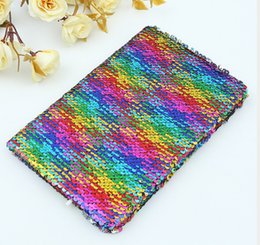 Journal Stationery Australia - 2019 creative stationery A5 journal notebook travel diary book fashion sequins business notepads school stationery supplier