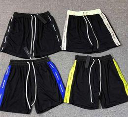 Wholesale side stripe shorts for sale – dress Mens Designer Summer Shorts Pants DP Patrick Side Stripes Webbing Mesh Casual Fashion Running Shorts Fitness High Street