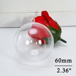 $enCountryForm.capitalKeyWord NZ - 60mm Clear Christmas Decorations Ball Ornaments Transparent Round Ball Baubles Festival Party Wedding Christmas Decorations Balls (5pcs)
