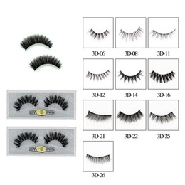 3D Mink Eyelashes 25mm Mink Eyelash Eye Makeup Thick Long Curl Mink Lashes Extension Natural False Eyelashes Tools RRA1277 on Sale