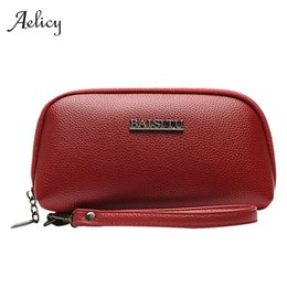 mobile purses 2019 - Aelicy Women Wallet Long Zipper Fashion Clutch Hand Bag 2019 New Zipper Mobile Phone Bag Card Holder Coin Purse Wallet B