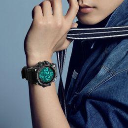 $enCountryForm.capitalKeyWord Australia - Luxury Men Sports Analog Digital LED Electronic Clock Waterproof Watch Quartz Watch Casual Outdoor Running A1