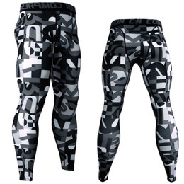 $enCountryForm.capitalKeyWord Australia - 3D Printed Camouflage Joggers Leggings Men Quick Dry Compression Pants Gyms Fitness Tights Casual Workout Trousers Long Pants