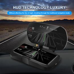 $enCountryForm.capitalKeyWord Australia - Car Mount Holder Universal HUD Navigation Bracket GPS Mobile Phone Holder Big Screen HD Reflection Projector