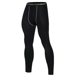 $enCountryForm.capitalKeyWord Australia - Thermal Underwear for Men Tight Leggings Thin Elastic Bottom Pants Solid Color Underpants Polyester Blends