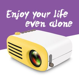 Discount mini computer projector - YG200 Portable Projector New Mini Projector Support Computer Phones Speaker screen HDML HD Home Theater projector