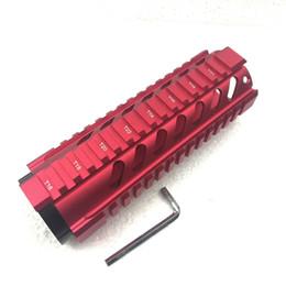 $enCountryForm.capitalKeyWord UK - 7 inch Free Float Quad Rail Mounting System Handguard Red Color