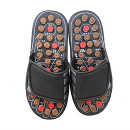 pedicure flip flops wholesale Australia - New Massage Shoes Mens Chinese Pedicure Accupressure Foot Slippers Home Healthcare Spring Acupoint Adult Slipper