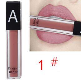 $enCountryForm.capitalKeyWord Australia - Hot Sell Velvet Lips Tint Liquid Lipstick Long Lasting Matte Beauty Cosmetics Nude Charming Sexy Pigment Lip Gloss Tattoo