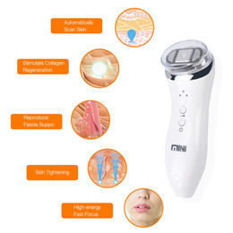 body firming machine 2019 - Mini Hifu High Intensity Focused Ultrasound Skin Care Facial Lifting Wrinkle Removal Beauty Machine Portable Home Use ch