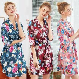 7cc754491adc BaBydoll animal print online shopping - Women Ladies Flower Sexy Lingerie  Silk Robe Dress Babydoll Nightdress