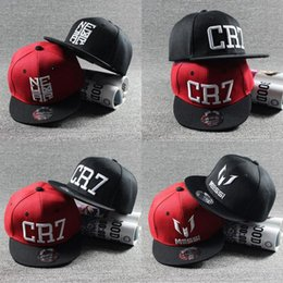 Neymar New Cap Australia - 2019 New Fashion Children Ronaldo CR7 Neymar NJR Baseball Cap Hat Boys Girls Kids MESSI Snapback Hats Hip Hop Caps Gorras #17435