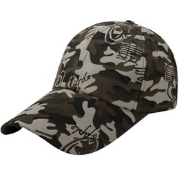 Discount cap boy camouflage - Men Women Army Camouflage Classic Plain Adjustable Baseball Caps Work Casual Sports Leisure Climbing Hiking Caps #3J02