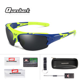 Professional sunglasses online shopping - Queshark Professional Polarized Cycling Sunglasses Outdoor Sports Cool Windproof Mountain Road Bike Glasses Motorcycle