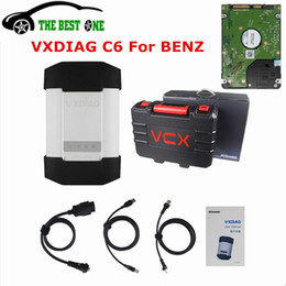 Nissan Audio Australia - 2019 Original VXDIAG C6 For BENZ With 500G HDD Wireless DOIP&AUDIO Function For Mercedes OBD2 obdii Diagnostic Tool DHL Free